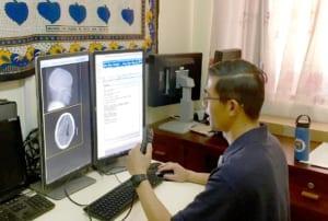 Stan Cheng at Tenwek Hospital